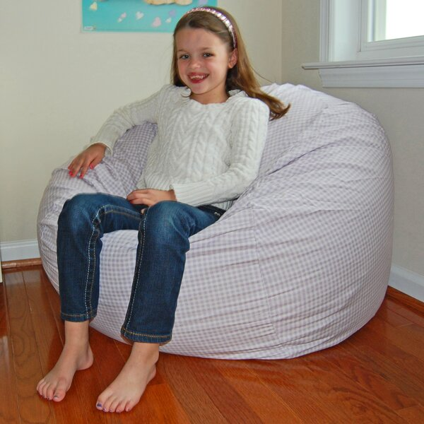 Standard 100% Cotton Bean Bag Chair & Lounger By Ahh! Products